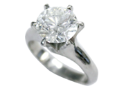 ダイヤモンドリング 3.178ct D VS1 VERY GOOD