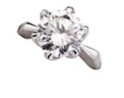 ダイヤモンドリング 3.54ct H VVS2 GOOD