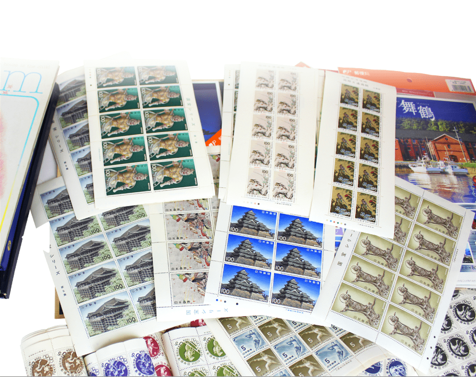 東京オリンピック時の記念切手シート