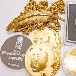 記念で買ったメダルやアクセサリー