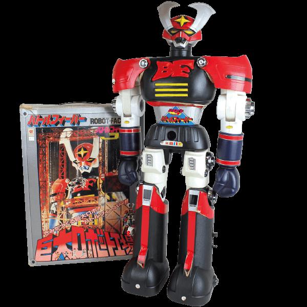 ボビー巨大ロボット工場 ジャンボマシンダー バトルフィーバー