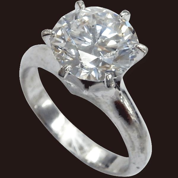 ダイヤモンドリング3.00ct