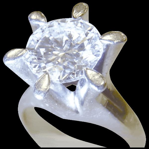 ダイヤモンドリング3.064ct G VVS2 VERY GOOD
