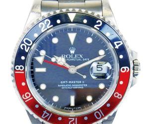 ロレックス GMTマスターII 16710 赤黒ベゼル