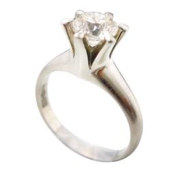 ダイヤモンドリング 1.08ct D VVS2 GOOD