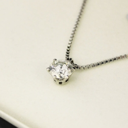 ダイヤモンドネックレス 1.21ct F VS2 GOOD