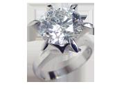ダイヤモンドリング 5.2ct E SI2 VERY GOOD