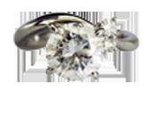 ダイヤモンドリング 2.20ct F VS2 GOOD