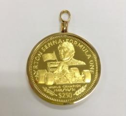 アイルトン・セナ$250金貨