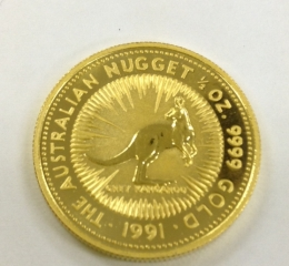 オーストラリア金貨<br>1/2オンス