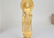 純金の仏像