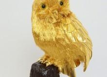 【純金】フクロウの置物