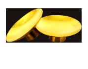 頂き物の金の盃