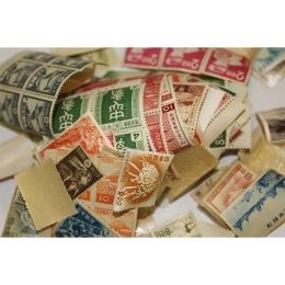 プレミア切手がまざっていた古いバラ切手