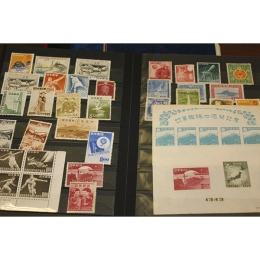 ブックに入った切手コレクション