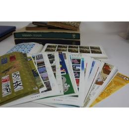 きれいに集められていた切手シートの数々と眠っていたブック