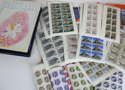 東京オリンピックのときの<br /> 切手や記念切手シート