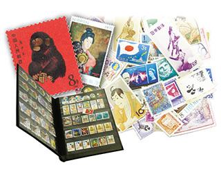 バラ切手とブックと中国切手の一括買取